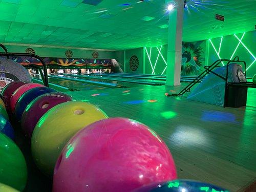 24 Lanes of bowling!
