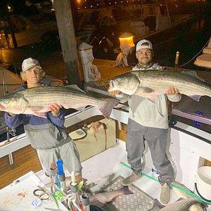 Some evening bass fishing