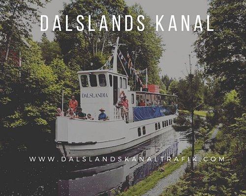 Dalslandi passerar kanalen mellan sluss 19 & 20.