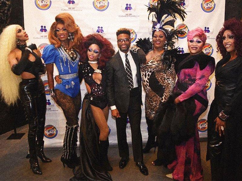 Drag queens at Tri-State Black Pride