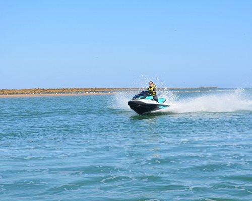 La mayor y más moderna flota de motos de agua SEA DOO de la costa de Huelva