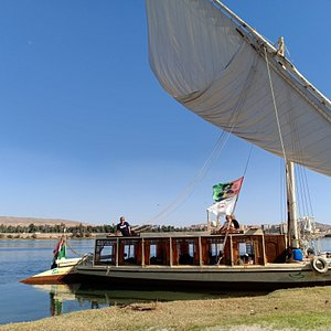 Enjoy the Nile while relaxing on JJ Jamaica Felucca
