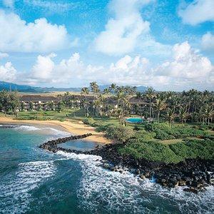 Lae Nani Resort Kauai by Outrigger - aerial