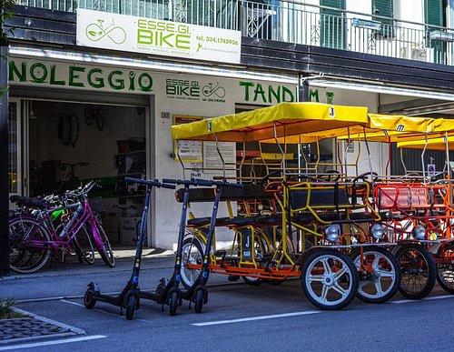 Esse.Gi. Bike vendita, noleggio, riparazione biciclette, tandem, monopattini elettrici