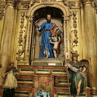 San Mateo, del escultor, Luis Salvador Carmona.