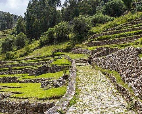Inkilltambo. Muy cerca del centro de Cusco.