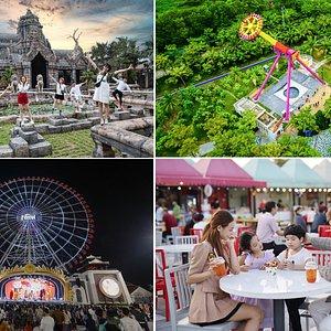 Asia Park là công viên chủ đề hấp dẫn, mang đến một châu Á thu nhỏ sôi động bậc nhất Đà Nẵng
