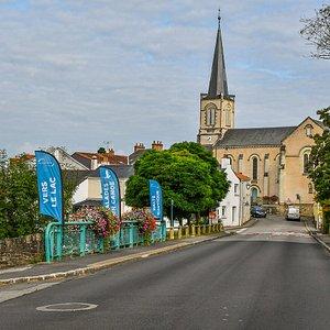 Eglise de Pont Saint Martin. Crédit photo : LOUERAT Nicolas.