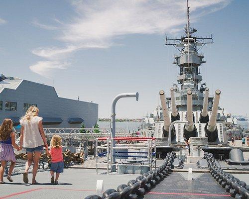 Battleship Wisconsin self-guided tours