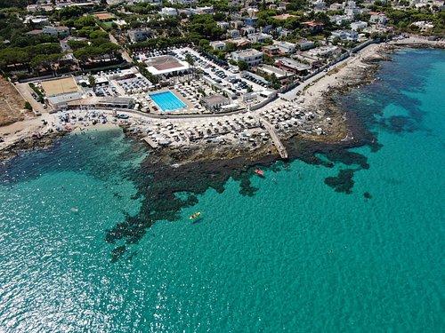 panoramica del coco beach club