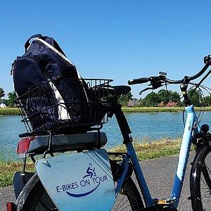 E-Bike aus dem hoteleigenen Verleih