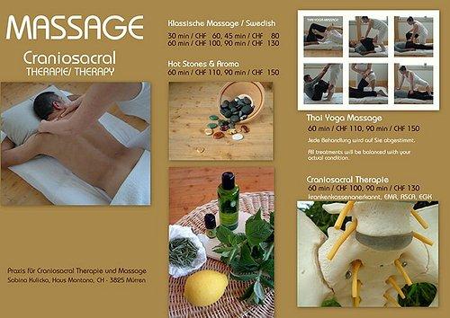 Sabina Kulicka Craniosacral Therapie & Massage (Mürren BE)