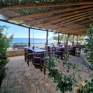 Wine tasting terrace