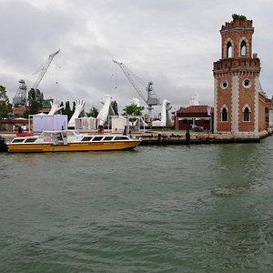 Sestiere antichissimo con vista sull'Arsenale di Venezia
