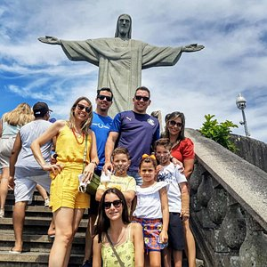 Beautiful group at Christ the Redeemer!