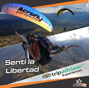 AcroFly Paragliding Experience | Feel the freedom