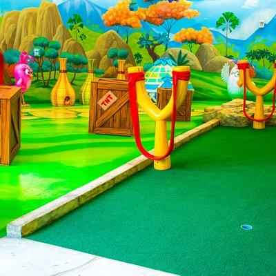 Angry Birds Mini Golf