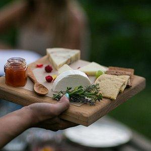 Greek meze platter