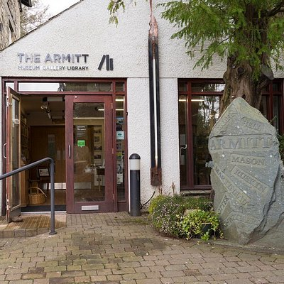 The front entrance of The Armitt
