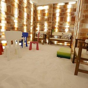 Salt cave for children