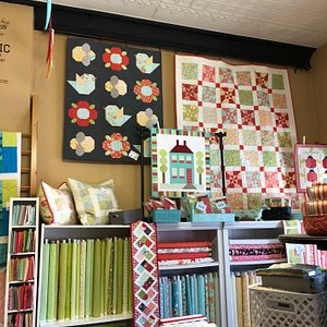 Pumpkinberry Stitches Quilt Shop carries a wide selection of  newest trending top quality quilt fabric and patterns.
