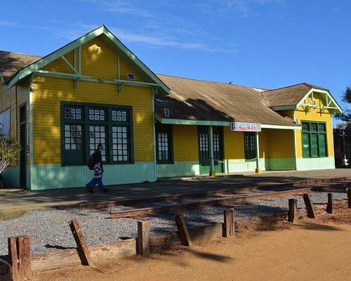 Antigua Estación de Trenes  Museo Pichilemu
