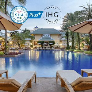 Travel with confidence at the Holiday Inn Resort Phuket, an SHA Plus certified hotel.