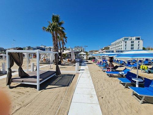 Spiaggia 129 Beach Club migliore spiaggia di Riccione priveé