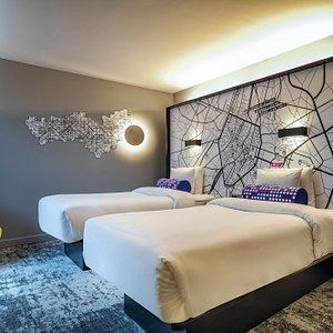 Twin/Twin Loft Guest Room