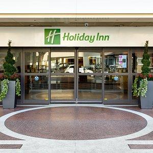 Main entrance Holiday Inn Bloomsbury