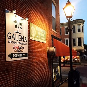 Find us on the corner of Hill & Main in the heart of historic downtown Galena, IL