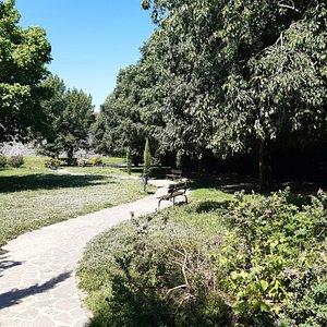 uno scorcio dei Giardini di Sant' Orsola