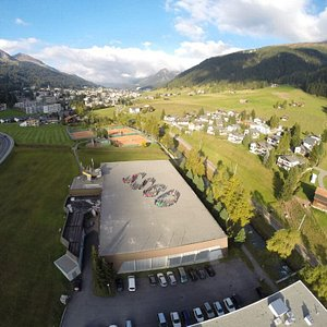 Sporthalle Färbi Davos (GR)