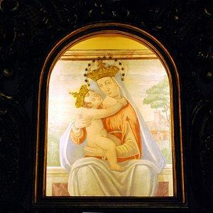 Piancastagnaio  Interno Santuario della Madonna di San  Pietro