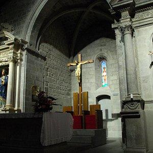 Piancastagnaio  Interno Pieve di Santa Maria Assunta