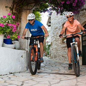 Through traditional villages of Corfu