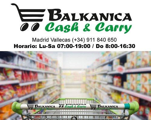Balkanica Cash & Carry Madrid Vallecas.