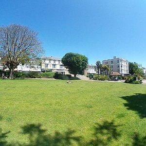 The lovely Dawlish Lawn