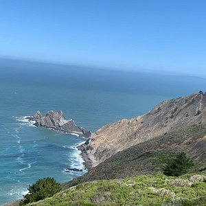 The most breathtaking view of the promontory at Pedro Point