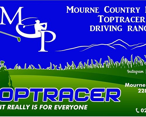 Mourne Country Park Golf Driving Range powered by Toptracer It really is for everyone 10 indoor Toptracer bays and 6 outdoor bays