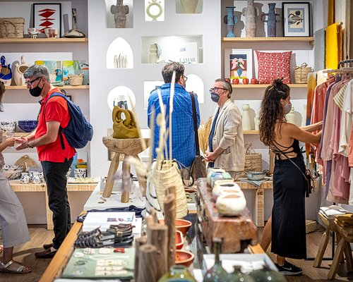 Interior of CASA LAMAR, a concept store in the center Cadiz