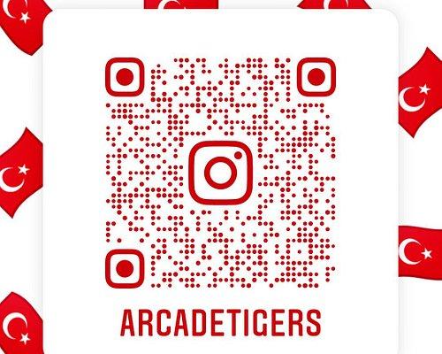 Arcade Tigers Entertainment Center Taksim Beyoğlu İstanbul Türkiye 🇹🇷