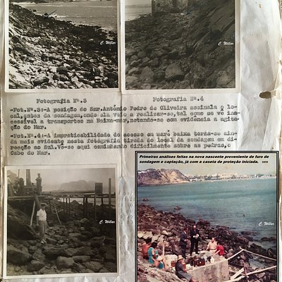 Antes, durante e depois, na sequência dos trabalhos de captação das Águas de Salir. (1968/69/70)