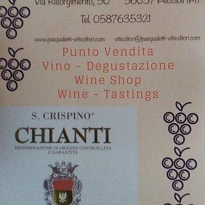 ORARIO DELLA CANTINA  DAL LUNEDI AL SABATO DALLE 9.00  ALLE 19.30 PER INFO viticoltori@pasqualetti-viticoltori.com