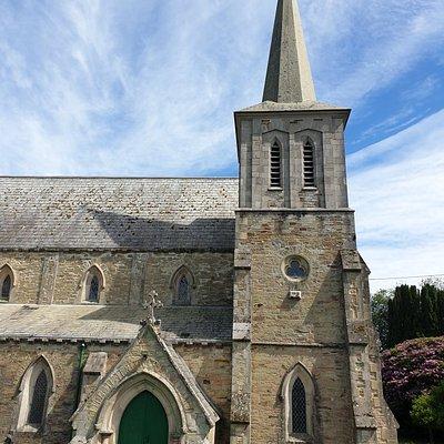 St Paul's Church - Charlestown, St Austell. June 2021