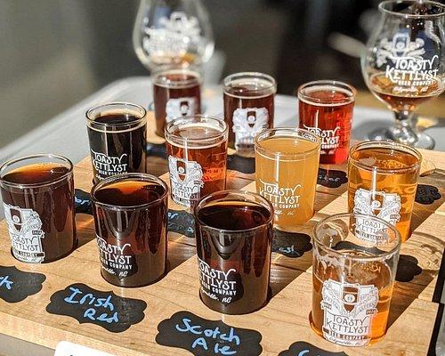Taste all 12 beers - flights available