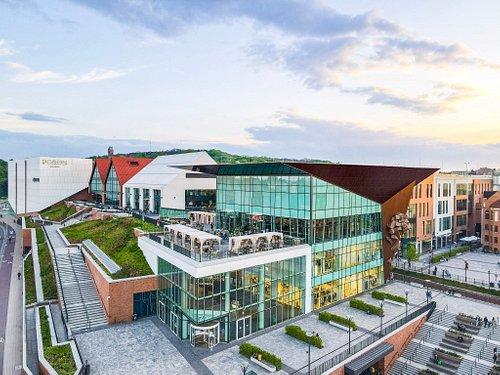 Forum Gdańsk - aerial view.