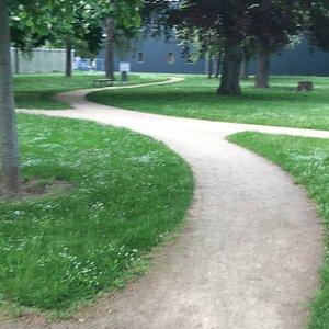 Kuchengarten Park záhrada Garten Gera