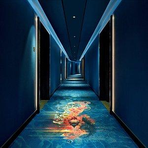 Hallway at Hotel Indigo Dubai Downtown