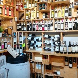 Oferta de vinos.